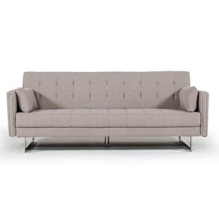 Faviola Beige Sofa by Orren Ellis