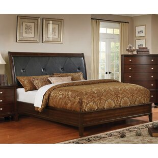 Hornback Upholstered Panel Bed