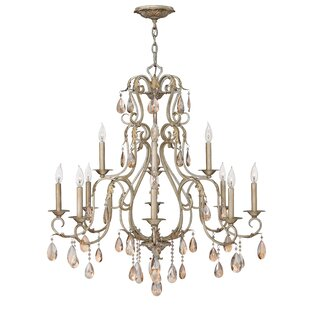Carlton 12-Light Chandelier by Hinkley Lighting