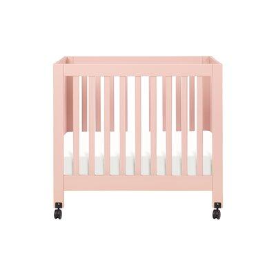 Babyletto Origami Mini Crib in Grey FREE SHIPPING - $249.00   400x400