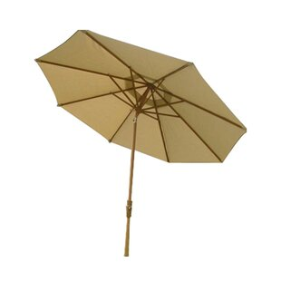 9' Market Umbrella by Royal Teak by Lanza Products