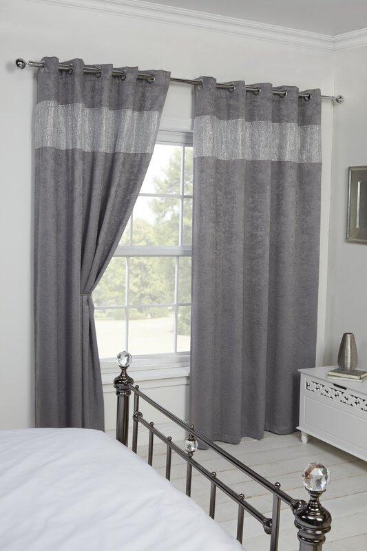 castleton home vorhang diandra mit sen zum verdunkeln bewertungen. Black Bedroom Furniture Sets. Home Design Ideas