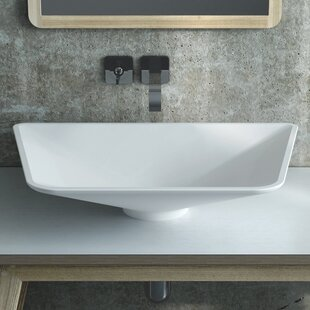 Firenzi Polymarble Specialty Vessel Bathroom Sink Calma