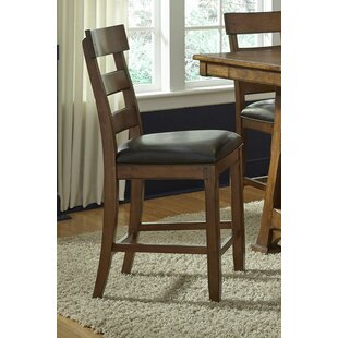 Billings Upholstered Dining Chair (Set of 2) Loon Peak