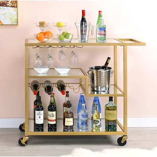 Gayle Bar Cart by Everly Quinn