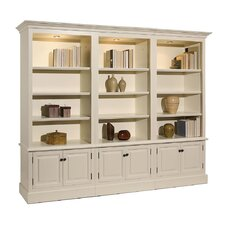 French Restoration Brighton Open Display 86 Standard Bookcase by A&E Wood Designs