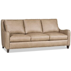 Greco Leather Sofa by Bradington-Young