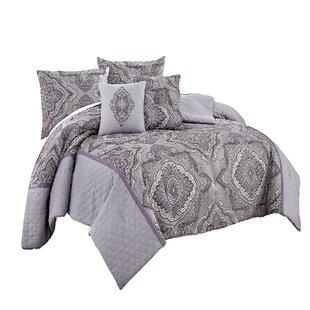 Vue Signature Charleston 7 Piece Reversible Comforter Set