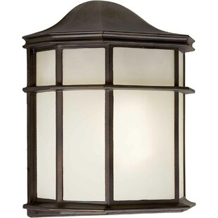 Bloomsbury Market Hiett 1-Light Outdoor Flush Mount