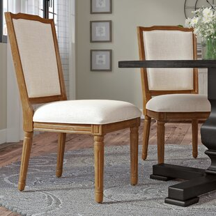 Lachance Ornate Upholstered Dining Chair (Set of 2) Ophelia & Co.