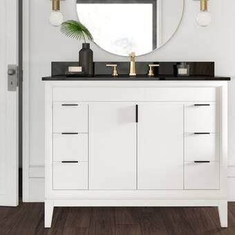 Breakwater Bay Seifert 49 Single Bathroom Vanity Set Reviews Wayfair