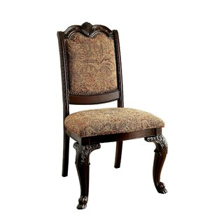 Barwood Traditional Upholstered Side Chair (Set of 2) by Astoria Grand
