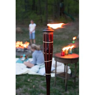 TIKI Brand Royal Poly Bamboo Tiki Torch (Set of 4)