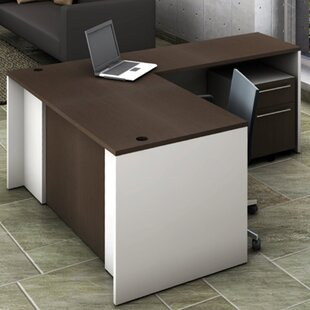 3-Piece L-Shape Desk Office Suite by OfisLite Great price