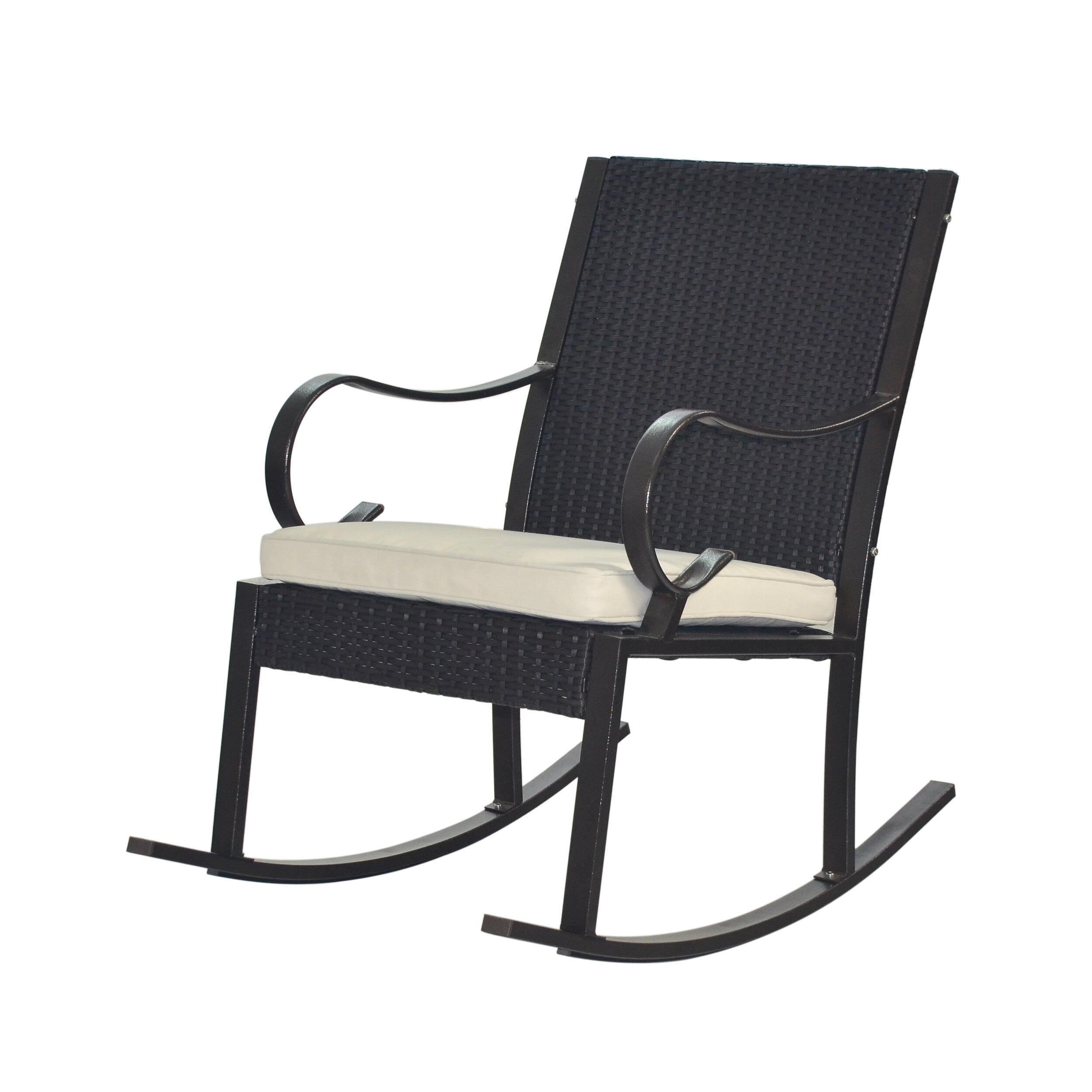 Kampmann Outdoor Wicker Rocking Chair