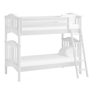 Modern Twin Futon Bunk Bed by Harriet Bee