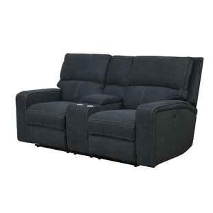 Stephan Reclining Loveseat by Ebern Designs New
