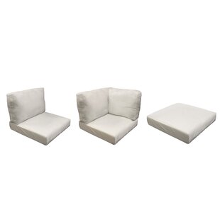 Fairmont Outdoor 23 Piece Lounge Chair Cushion Set by TK Classics