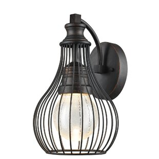 Look for Croley 1-Light Outdoor Wall lantern By Brayden Studio