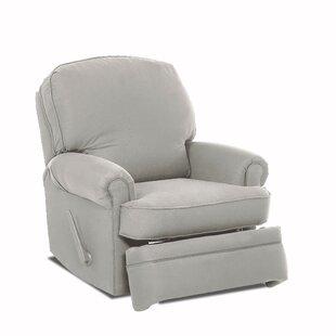 Wayfair Custom Upholstery™ Stanford Swivel Glider Recliner