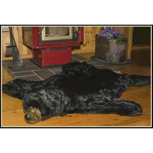 Black Bear Area Rug By Queens of Christmas