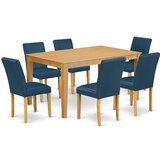 Essie 7 Piece Solid Wood Dining Set by Alcott Hill®