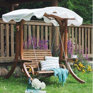 Ameesha Wooden Garden Swing Seat By Sol 72 Outdoor