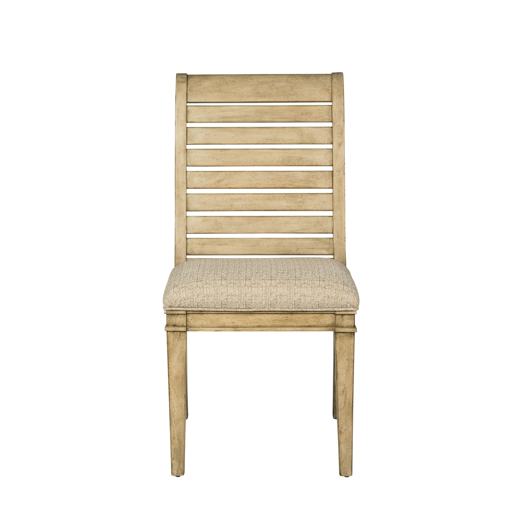 Koffler Upholstered Ladder Back Side Chair Reviews Birch Lane