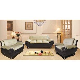 Segura 3 Piece Living Room Set By Orren Ellis | Free Shipping