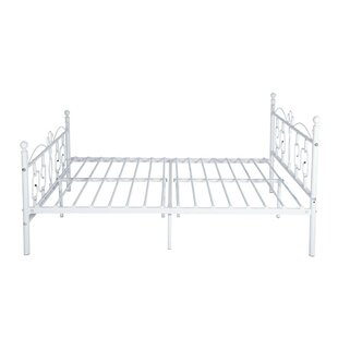 Flanary Double (4'6) Bed Frame By Lily Manor