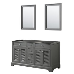 Tamara 60 Double Bathroom Vanity Base Only by Wyndham Collection
