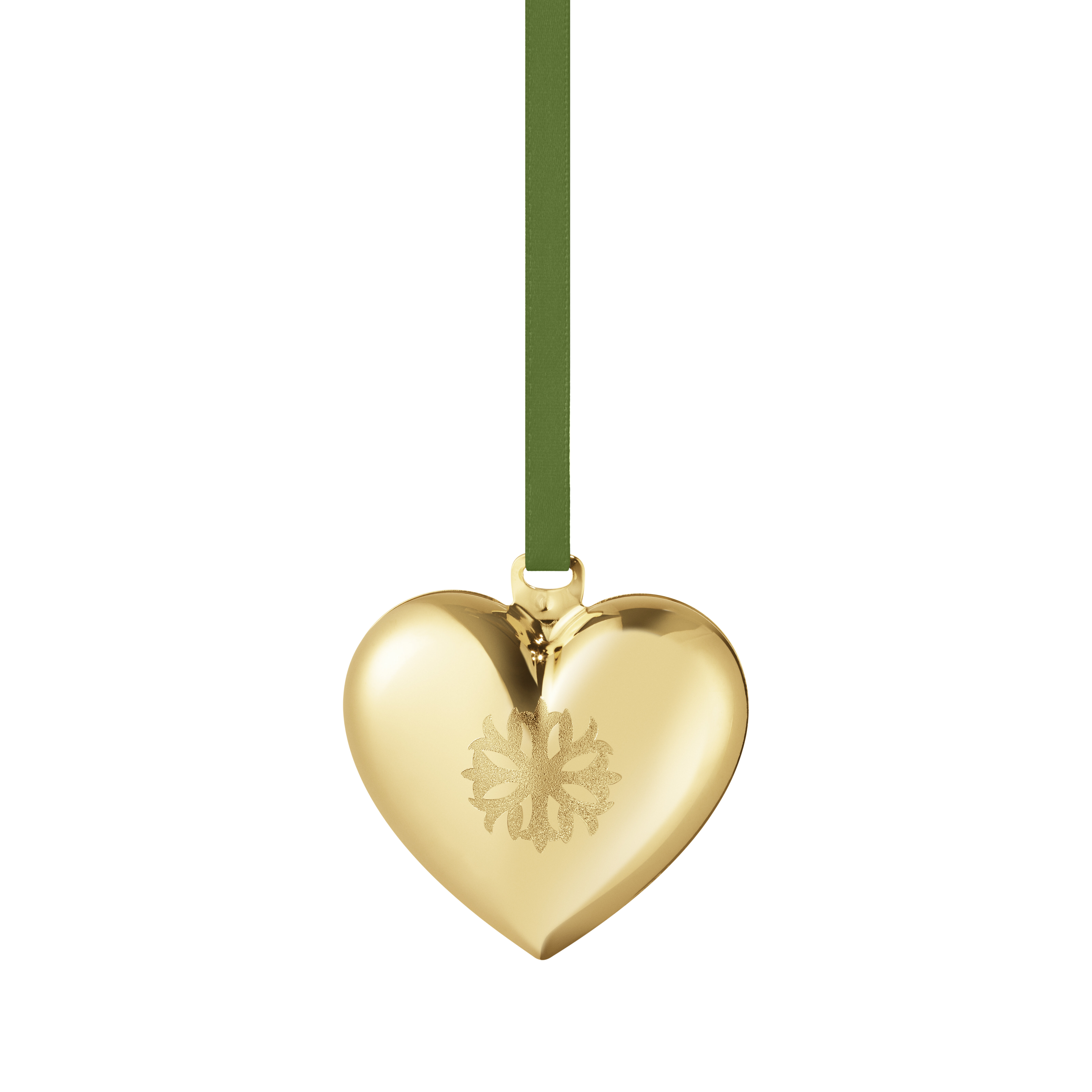 Georg Jensen Christmas Heart Holiday Shaped Ornament Perigold
