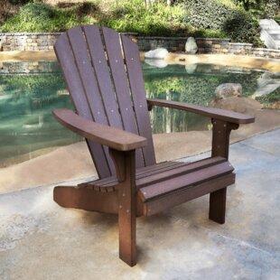 Royal Palm Plastic Adirondack Chair by Shine Company Inc.