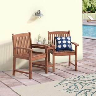 Pine Hills Patio Dining Chair by Beachcrest Home Purchase