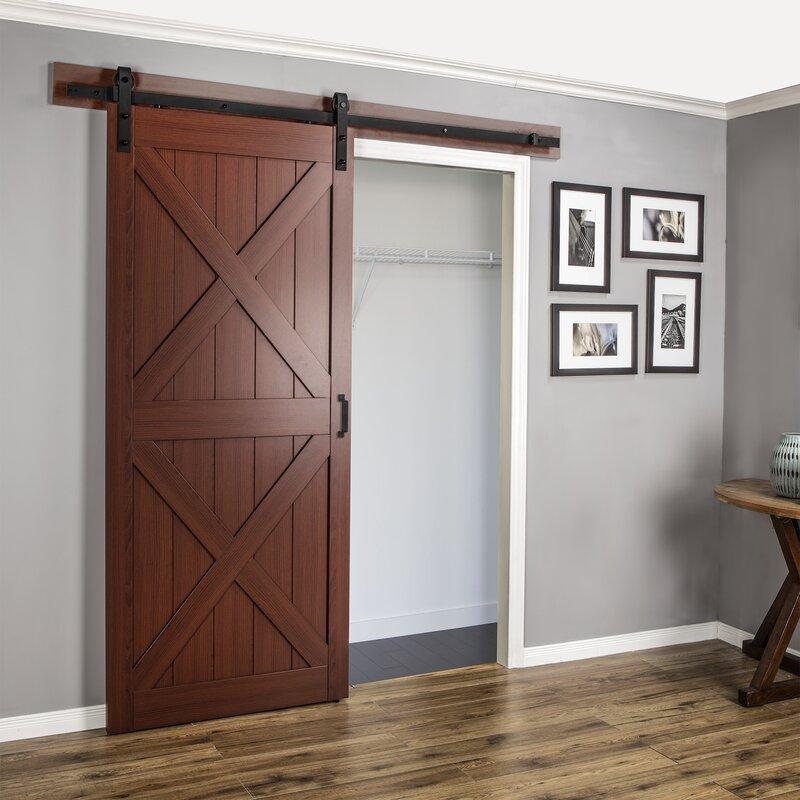 Erias Home Designs Continental Mdf Engineered Wood 1 Panel Cherry