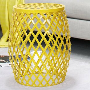 Wire Round Side Table