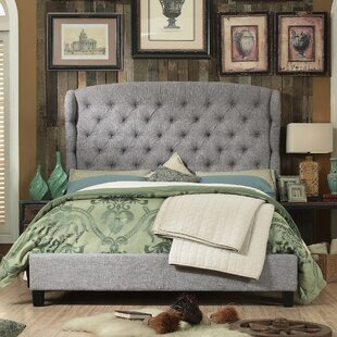 Maryport Upholstered Panel Bed by Three Posts