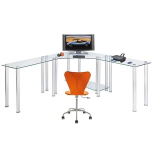 Chattanooga Ct Computer/Laptop Computer Desk by Ebern Designs Best #1