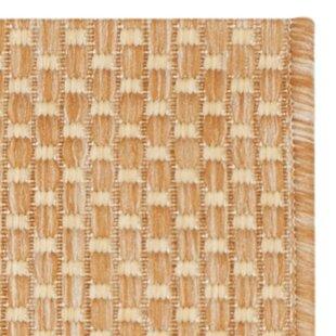 Mullen Natural/Cream Indoor/Outdoor Area Rug by Ebern Designs
