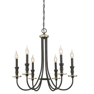 Darby Home Co Mercado Indoor 6-Light Chandelier