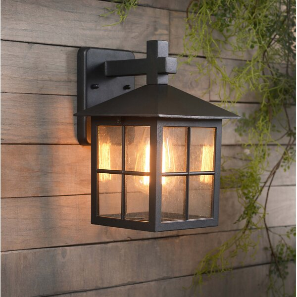 Wyant 1-Light Outdoor Wall Lantern by Millwood Pines