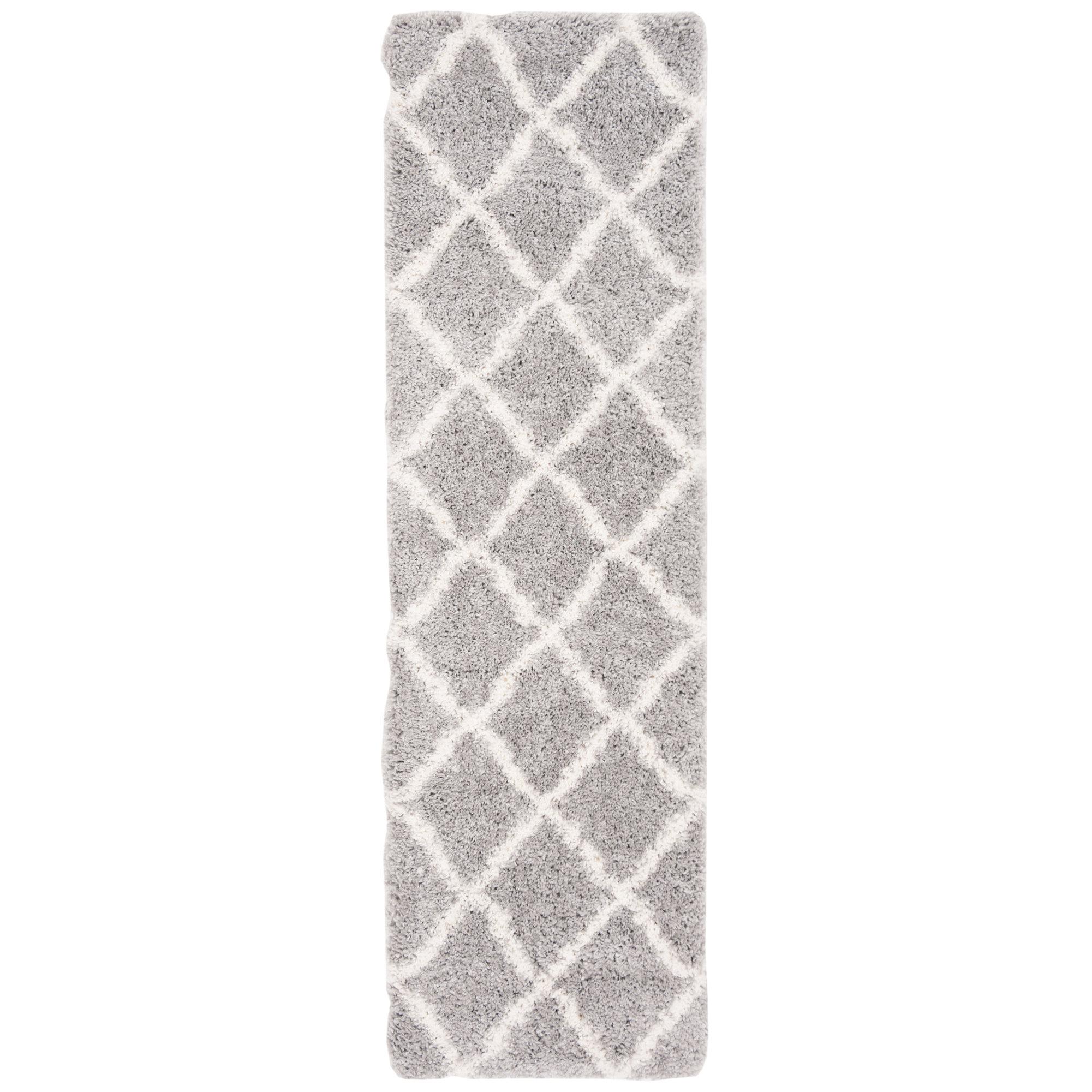 Union Rustic Almaden Gray/Cream Area Rug