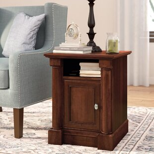 Warrington End Table with Storage by Three Posts