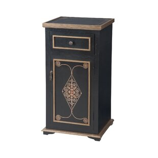 Andersonburg 1 Door Accent Cabinet by World Menagerie