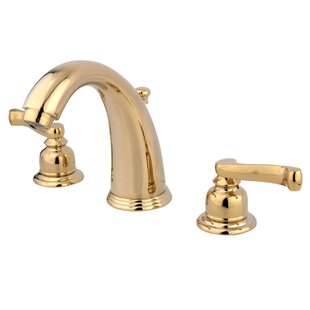 Kingston Brass Royale Widespread Bathroom Faucet with Brass Pop-Up Drain
