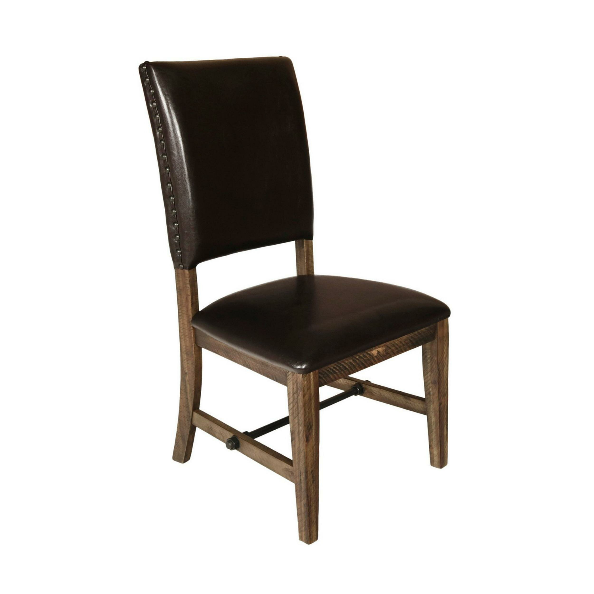 Loon Peak Coffield Side Chair In Brown Wayfair