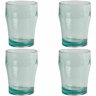 Recycled Effect 300ml Plastic Drinking Glass (Set Of 4) By Summerhouse