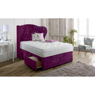 Irizarry Upholstered Divan Bed And Headboard By Rosdorf Park