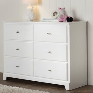 Affordable Price Amarion 6 Drawer Double Dresser by Grovelane Teen