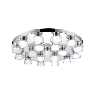 CWI Lighting Paulina 19-Light LED Flush Mount